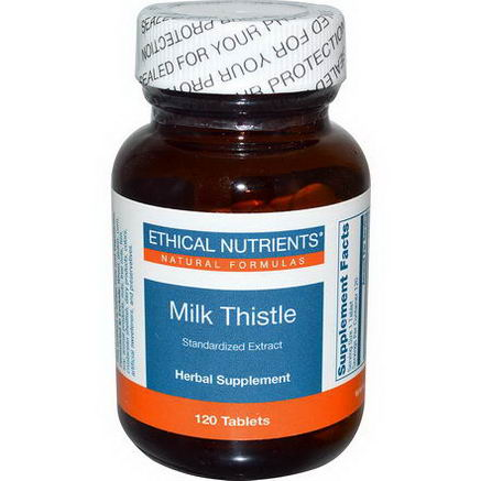 Ethical Nutrients, Milk Thistle, 120 Tablets