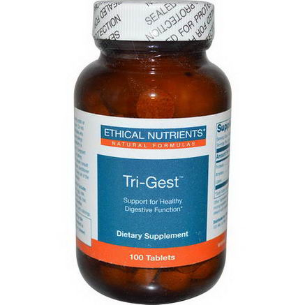 Ethical Nutrients, Tri-Gest, 100 Tablets