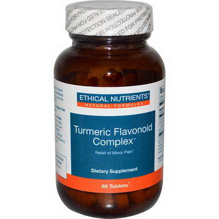 Ethical Nutrients, Turmeric Flavonoid Complex, 60 Tablets