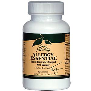 EuroPharma, Terry Naturally, Allergy Essential, 60 Capsules