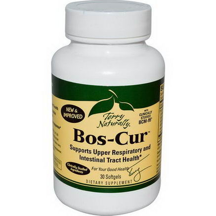 EuroPharma, Terry Naturally, Bos-Cur, 30 Softgels