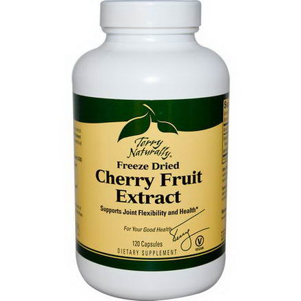 EuroPharma, Terry Naturally, Cherry Fruit Extract, Freeze Dried, 120 Capsules