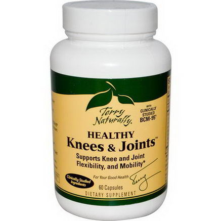 EuroPharma, Terry Naturally, Healthy Knees & Joints, 60 Capsules