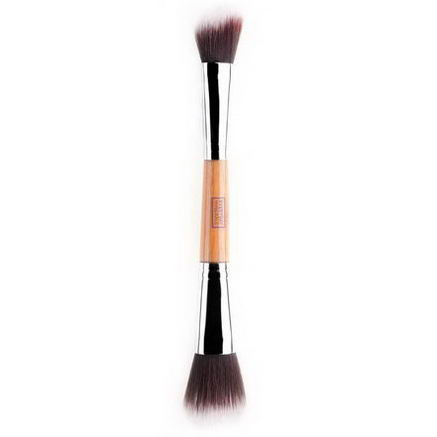 Everyday Minerals, Double Ended Angled Blush & Mineral Brush