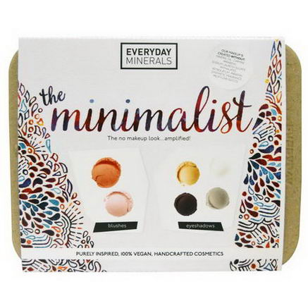 Everyday Minerals, The Minimalist Kit, 6 Pieces