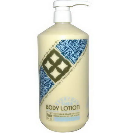 Everyday Shea, Body Lotion, Unscented, 32 fl oz (950 ml)