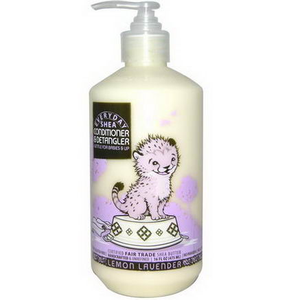 Everyday Shea, Conditioner & DeTangler, Lemon Lavender, 16 fl oz (475 ml)