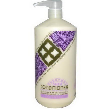 Everyday Shea, Moisturizing Conditioner, Lavender, 32 fl oz (950 ml)