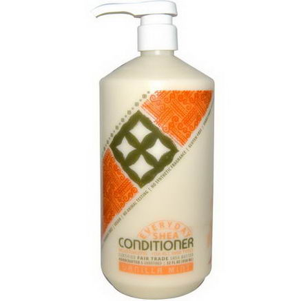 Everyday Shea, Moisturizing Conditioner, Vanilla Mint, 32 fl oz (950 ml)