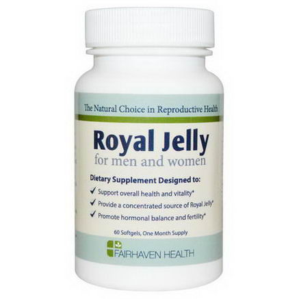 Fairhaven Health, Royal Jelly for Men and Women, 60 Softgels
