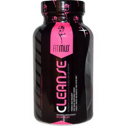 FitMiss, Cleanse, Women's Quick Cleanse & Daily Detox, 60 Capsules