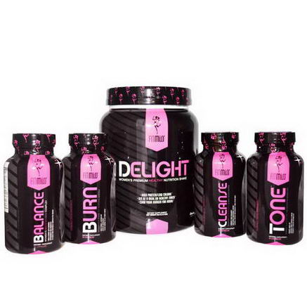 FitMiss, HerBizzyDiet, Weight-Loss Program, Chocolate Delight, 5 Part Program