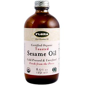Flora, Sesame Oil, Toasted, 8.5 fl oz (250 ml)