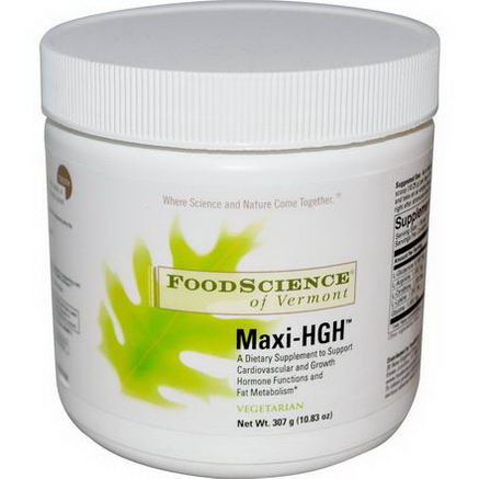 FoodScience, Maxi-HGH, 10.83oz (307g)