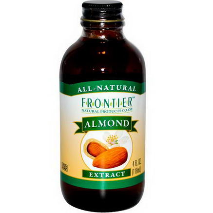 Frontier Natural Products, Almond Extract, 4 fl oz (118 ml)