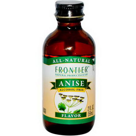 Frontier Natural Products, Anise Flavor, Alcohol-Free, 2 fl oz (59 ml)