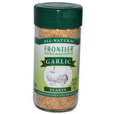 Frontier Natural Products, Garlic, Flakes, 2.64oz (74g)