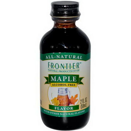 Frontier Natural Products, Maple Flavor, Alcohol-Free, 2 fl oz (59 ml)
