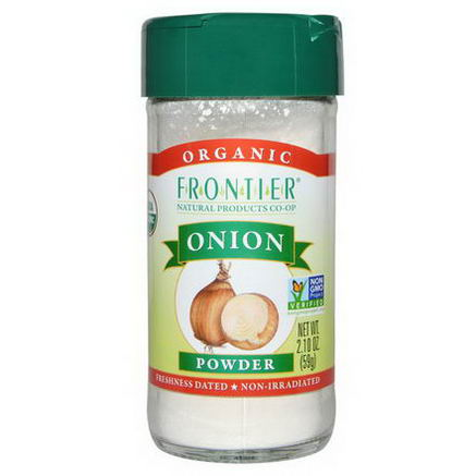 Frontier Natural Products, Organic Onion Powder, 2.10oz (59g)