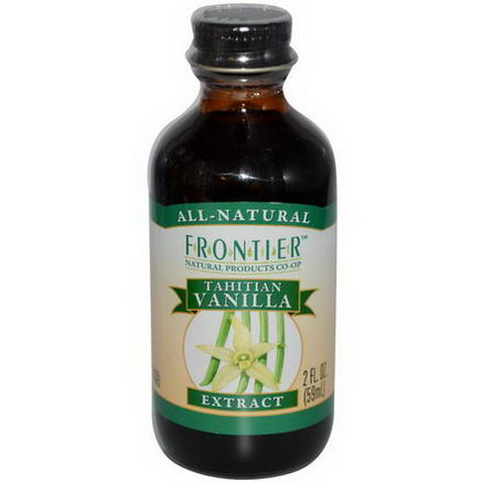 Frontier Natural Products, Tahitian Vanilla Extract, Farm Grown, 2 fl oz (59 ml)