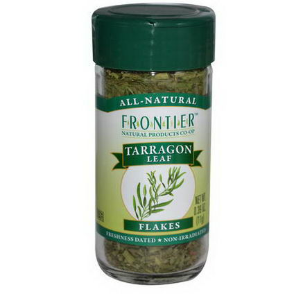 Frontier Natural Products, Tarragon Leaf, Flakes, 0.39oz (11g)