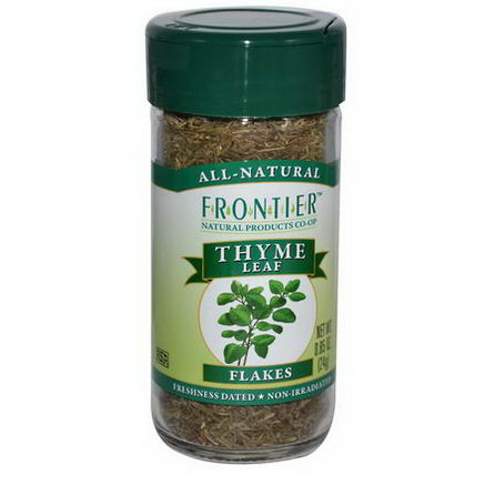 Frontier Natural Products, Thyme Leaf Flakes, 0.85oz (24g)