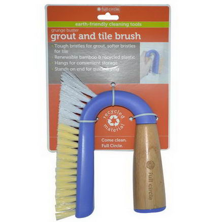 Full Circle Home LLC, Grunge Buster, Grout and Tile Brush