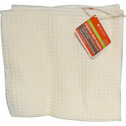 Full Circle Home LLC, In The Buff, Organic Dish Towels, Natural, 1 Towel, 16
