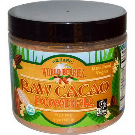 Fun Fresh Foods, Organic, Raw Cacao Powder, 5oz (140g)