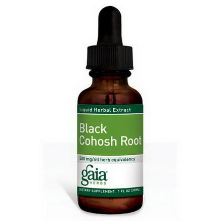 Gaia Herbs, Black Cohosh Root, 1 fl oz (30 ml)