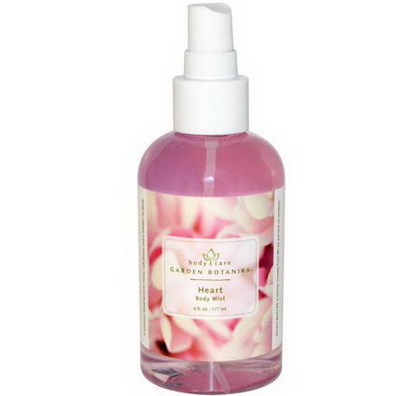Garden Botanika, Body Care, Heart Body Mist, 6 fl oz (177 ml)