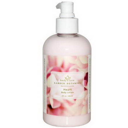 Garden Botanika, Body Lotion, Heart, 8 fl oz (236 ml)