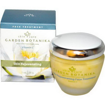 Garden Botanika, Skin Rejuvenating, Face Treatment with Vitamin C, 1oz (28g)