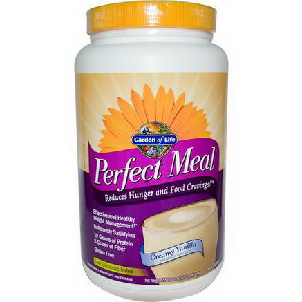 Garden of Life, Perfect Meal, Creamy Vanilla, 23.2oz (658g)