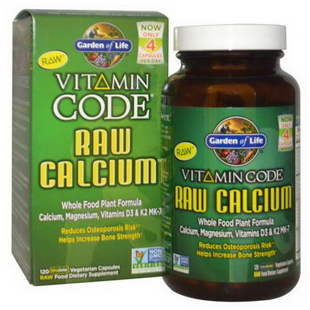 Garden of Life, Vitamin Code, Raw Calcium, 120 Veggie Caps