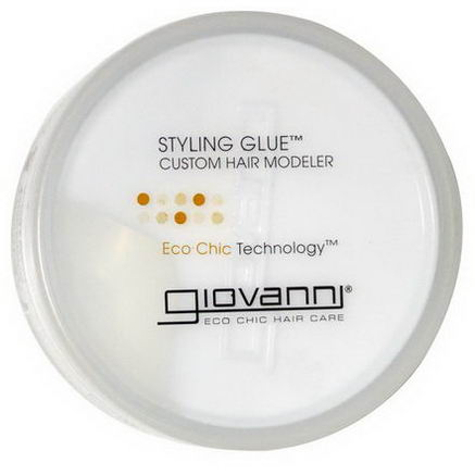 Giovanni, Styling Glue, Custom Hair Modeler, 2oz (57g)