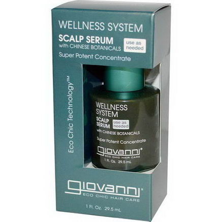 Giovanni, Wellness System, Scalp Serum, 1 fl oz (29.5 ml)
