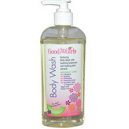 Good For You Girls LLC, Body Wash, Sweet Honeydew, 8 fl oz (236 ml)
