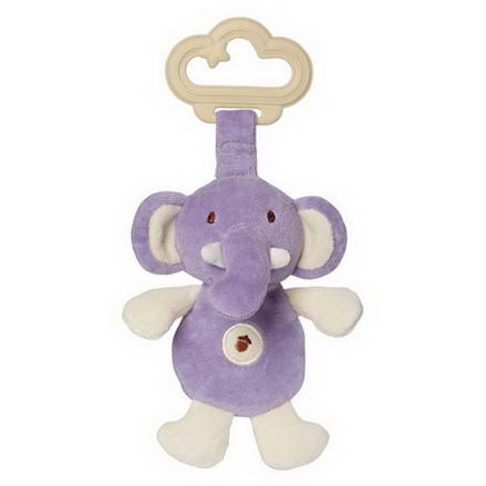 Greenpoint Brands, My Natural, Sensory Eco Teether, Purple Elephant, 1 Teether