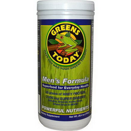 Greens Today, Organic Frog, Men's Formula, 26.4oz (750g)