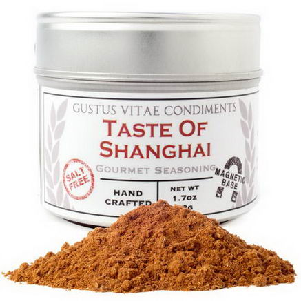 Gustus Vitae, Condiments, Gourmet Seasoning, Taste of Shanghai, 1.7oz (48g)