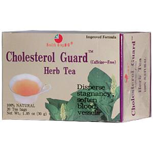 Health King, Cholesterol Guard Herb Tea, Caffeine Free, 1.05oz (30g), 20 Tea Bags