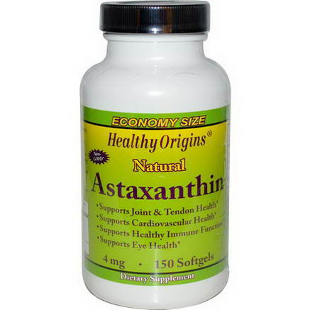 Healthy Origins, Astaxanthin, 4mg, 150 Softgels