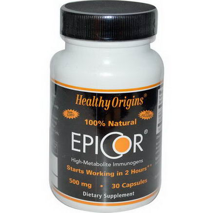 Healthy Origins, EpiCor, 500mg, 30 Capsules