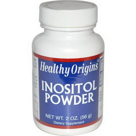 Healthy Origins, Inositol Powder, 2oz (56g)