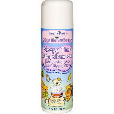 Healthy Times, Baby's Herbal Garden, Sleepy Time Baby Shampoo, 8 fl oz (236 ml)
