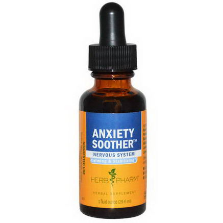 Herb Pharm, Anxiety Soother, 1 fl oz (29.6 ml)