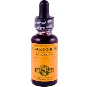 Herb Pharm, Black Cohosh, 1 fl oz (29.6 ml)