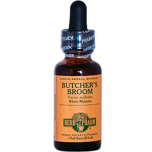 Herb Pharm, Butcher's Broom, 1 fl oz (29.6 ml)