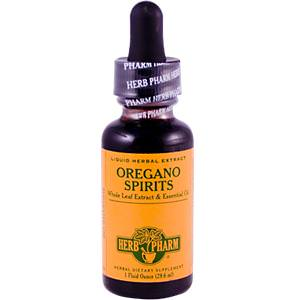 Herb Pharm, Oregano Spirits, 1 fl oz (29.6 ml)